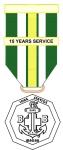十五年長期服務獎章
